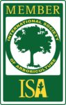 We are members of the International Society of Arboriculture.